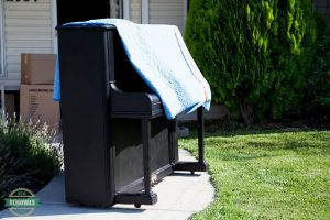 Moving a small piano