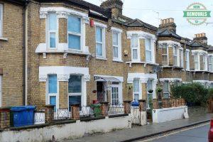 House row in London